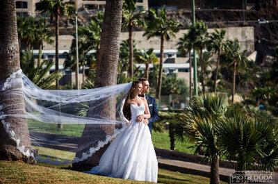 Piękna Gran Canaria na zdjęciach ślubnych- obłędna sesja!
