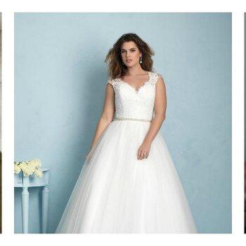 Kurvenreiche Brautkleider, geniale Brautstylings: Die schönsten Hochzeitskleider 2015, die Ihre Weiblichkeit in Szene setzen