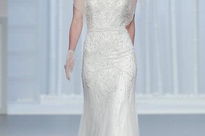 30 sukni ślubnych w stylu syrenki 2016!
