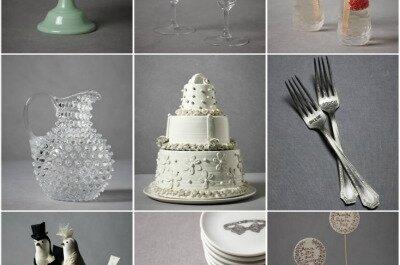 Trends 2011: Tischdekoration für Ihre Hochzeit im Vintage Stil