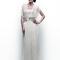 Vestido de novia 2013 con corpiño holgado y detalles de transparencia