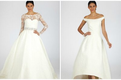 Oscar de la Renta Wedding Dresses Fall 2013: Fresh Florals