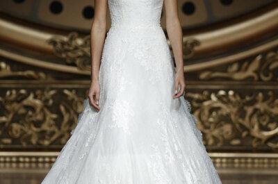 Maksymalna elegancja sukien ślubnych 2016 ze spadającymi ramionami!