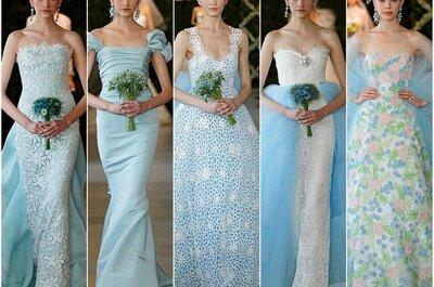 Lo que se viene en vestidos de novia 2013: Colección Oscar de la Renta