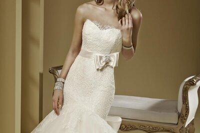 Zeigen Sie Ihre sexy Seite mit einem Meerjungfrauen-Brautkleid!