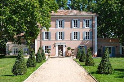 Les 10 plus beaux châteaux pour votre mariage dans les Bouches-du-Rhône !