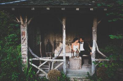 Caroline et Alexandre : le mariage en petit comité respirant la simplicité et le chic!