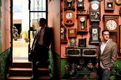 Sessão pré-boda vintage: charme nostálgico em San Luis Potosí