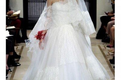 Reem Acra 2012, novias impresionantes