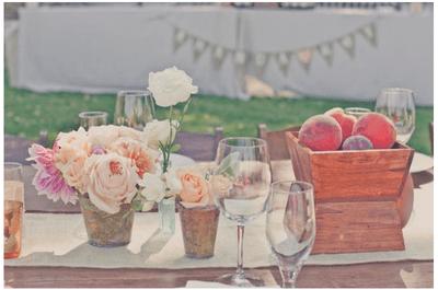 #MartesDeBodas: La boda más dulce con una decoración en color durazno