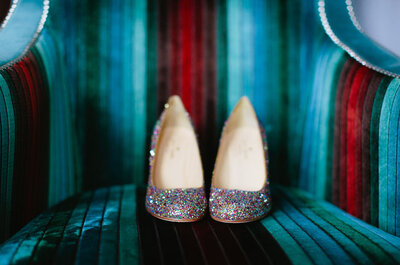 Zapatos de novia glitter: ¿Sí o No?