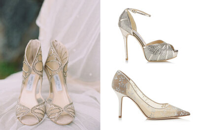 Sapatos de noiva Jimmy Choo 2015: luxo e elegância aos seus pés