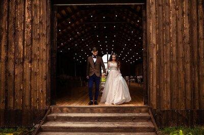 Тайное венчание: стилизованная фотосессия