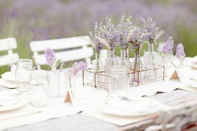 Ideen für den Hochzeitstisch