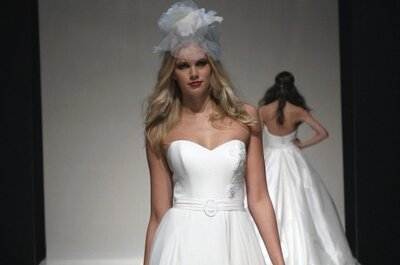 British Bridal Designers show their new styles at White Gallery
