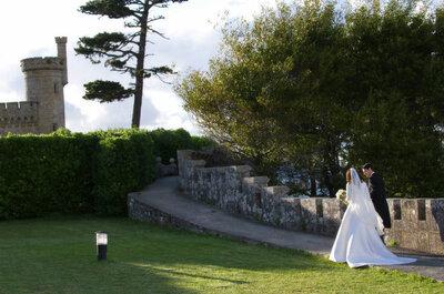 La boda de Menchu y Manuel en el Parador de Baiona
