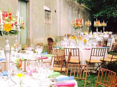 Decoração de casamento multicolorida: para um styling ousado e original!