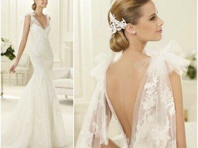 Brautkleider mit Rückenausschnitt - die schönsten Modelle für 2013