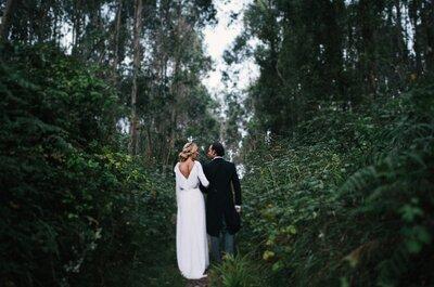 Romanticismo en estado puro: un jardín secreto para tu boda