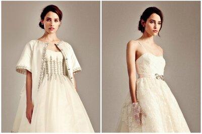 Suknie ślubne krótkie z przodu i długie z tyłu - zjawiskowe kreacje ślubne!