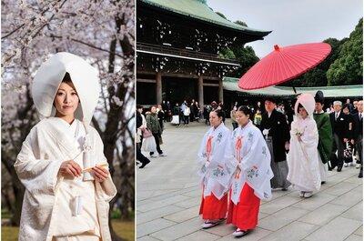 Inspírate en los más bonitos vestidos de novia de oriente
