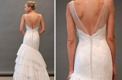 20 seksownych sukien ślubnych 2013 odsłaniających plecy