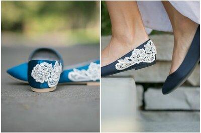 Le 20 scarpe da sposa che più piacciono alla Redazione di Zankyou