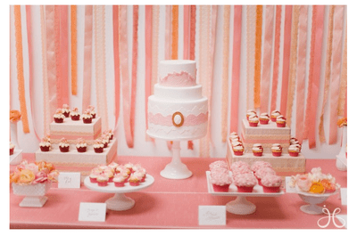 Tempting and tasty! The very best dessert tables for your 2014 wedding