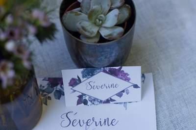 Un mariage en violet : shooting d'inspiration en plein coeur de Bordeaux