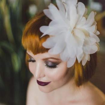 Penteados de noiva com franja 2017: personalidade máxima!