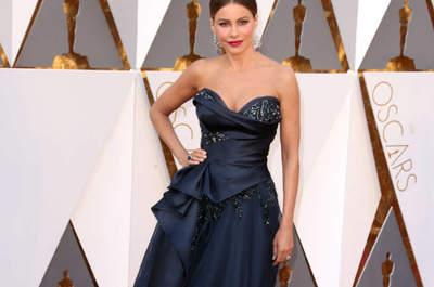 Las 22 celebridades mejor vestidas en los Premios Oscar 2016: Detalles de la Red Carpet
