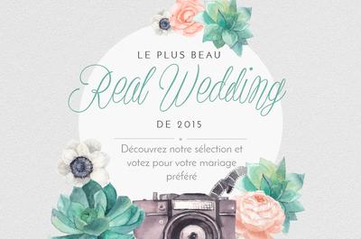 Les plus jolis mariages 2015 : votez pour votre préféré !