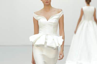 Vestidos de novia con corte sirena 2016 que te encantarán