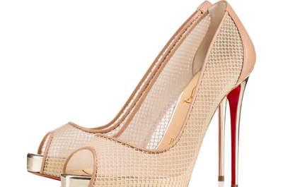 Zapatos de novia Christian Louboutin 2017: 14 diseños de ensueño que pueden ser tuyos