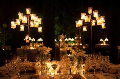 nozze come decorare il giorno speciale : Come decorare il tuo matrimonio con le candele? Ecco 25 idee per il ...