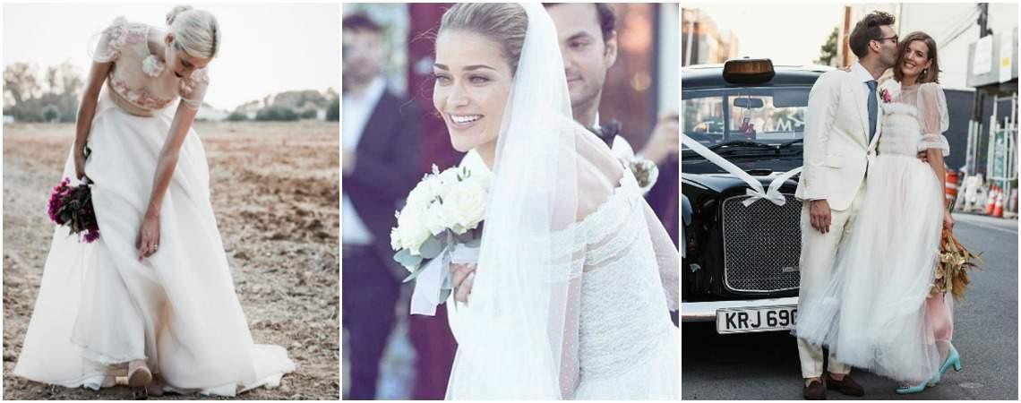 Novias del 2016 que te inspirarán para tu matrimonio este año. ¡A copiar su buen gusto!