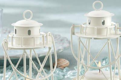 Recuerdos decorativos con velas para tu boda