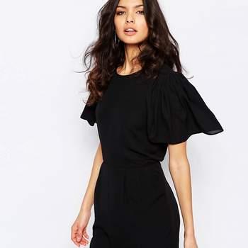 Espectaculares vestidos de fiesta negros cortos 2017. ¡Un clásico rejuvenecido!
