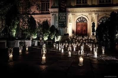 ¡Apuesta por un estilo romántico! Decoración de boda con velas 2017