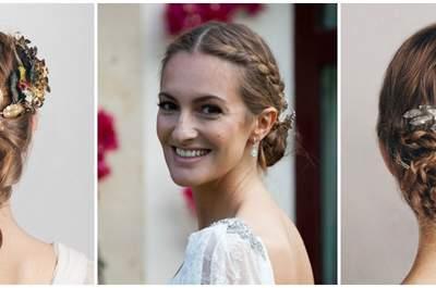 Trenzas para peinados de novia este 2016: tendencias que te enamorarán