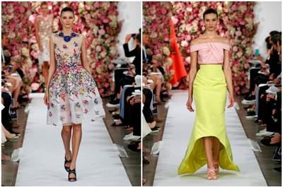 Looks para convidadas de casamento de Oscar de la Renta Primavera/Verão 2015