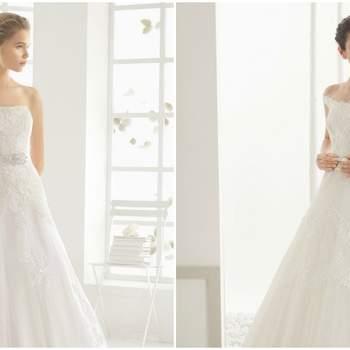 Vestidos de novia con cintura estilizada 2016: apuesta por la línea A