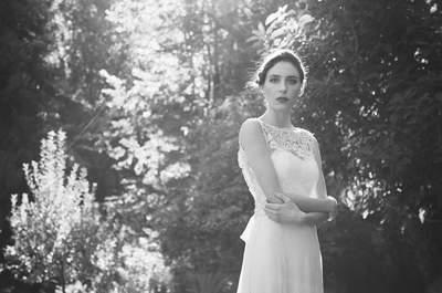 Vestidos de novia con cuello barco 2017. ¡Apuesta elegante y ultra femenina!