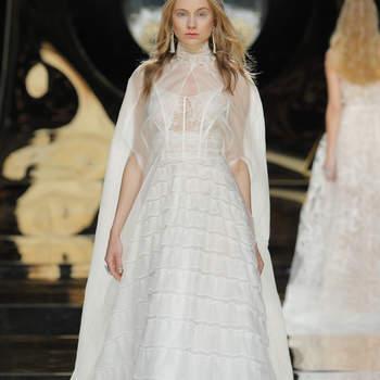 Sehen Sie hier die besten Brautkleider mit Illusions-Ausschnitt 2017! So sexy und elegant