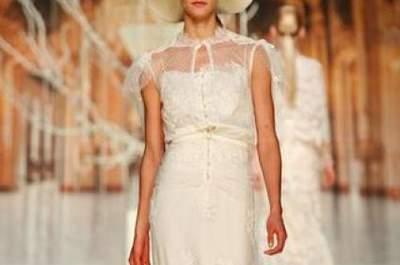 Nostalgisch und romantisch: Vintage-Brautkleider 2014