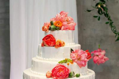 Tartas con flores, ¡un bouquet muy especial!