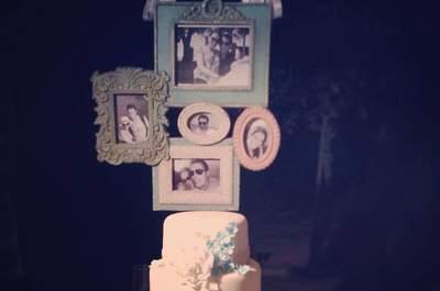 Inspire-se com estas ideias para decoração o seu casamento em tons de azul. Vai apaixonar-se por todas!