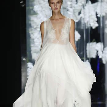 Découvrez les plus jolies robes de mariée à col V pour 2016