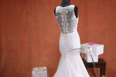 Vestidos de novia escote ilusión 2017. ¡Encuentra tu diseño favorito!
