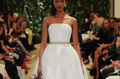 Trends in Sachen Brautkleider 2015 – Wir liefern Ihnen die angesagtesten Looks von der New York Bridal Week direkt nach Hause!